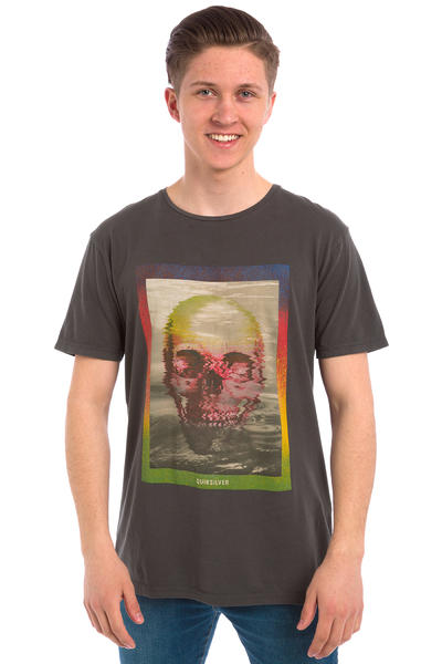 Quiksilver Skully Acid T-Shirt (tarmac)