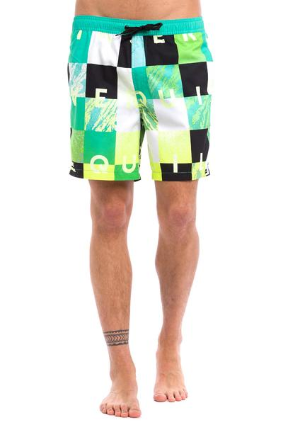 "Quiksilver Check Remix 17"" Boardshorts (pool green)"