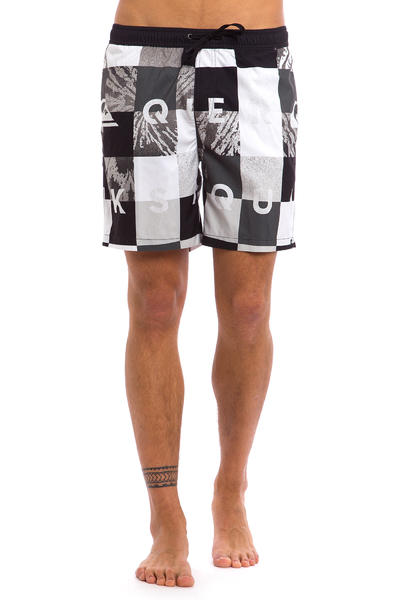 "Quiksilver Check Remix 17"" Boardshorts (black)"