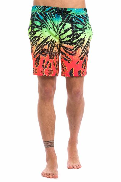 "Quiksilver Glitched 17"" Boardshorts (fiery coral)"