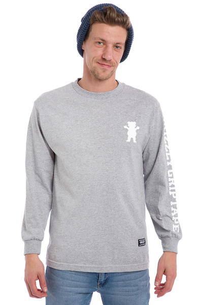 Grizzly Academy Longsleeve (heather grey)