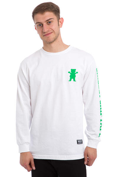 Grizzly Academy Longsleeve (white)