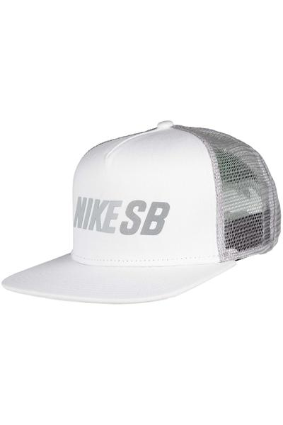 Nike SB Reflect Trucker Cap (white wolf grey)