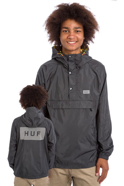 HUF Adapt Packable Jacke (grey)