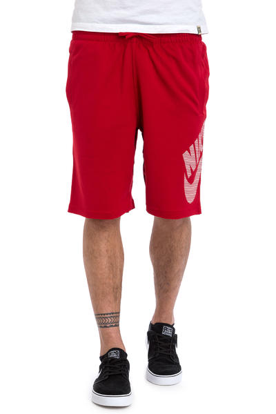 Nike SB Dri-FIT Stripe Sunday Shorts (gym red)