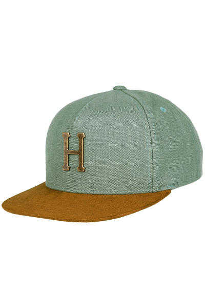 HUF Metal H Strapback Cap (slate)