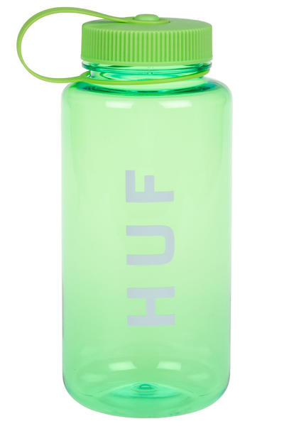 HUF Original Logo Water Flask (green)