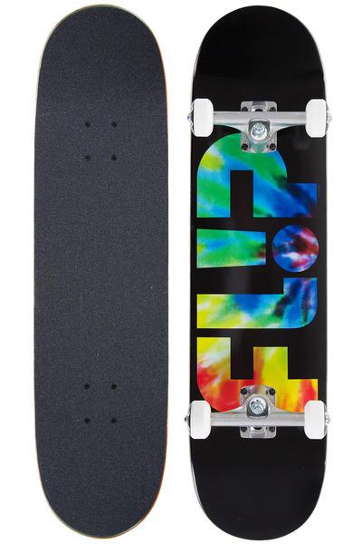 """Flip Odyssey Logo 8"""" Komplettboard (black tie dye)"""