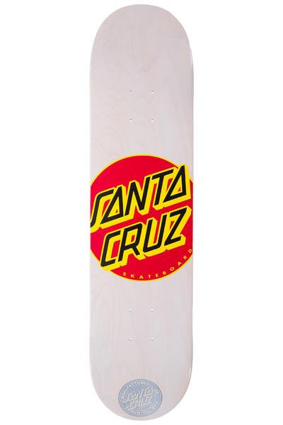 "Santa Cruz Classic Dot 7.75"" Deck (white)"