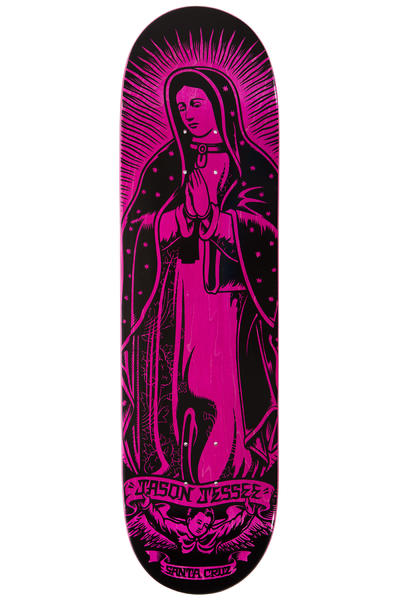 "Santa Cruz Jessee Guadalupe 8.5"" Deck (black pink)"