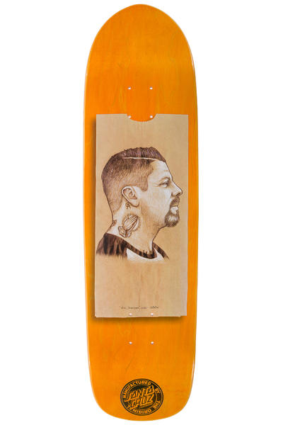 "Santa Cruz Dressen Lunchbag 8.75"" Deck (orange)"