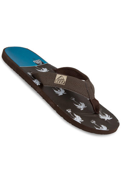 Reef HT Prints Sandale (brown blue palm)