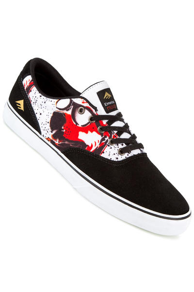 Emerica x Mouse The Provost Slim Vulc Shoe (black print)