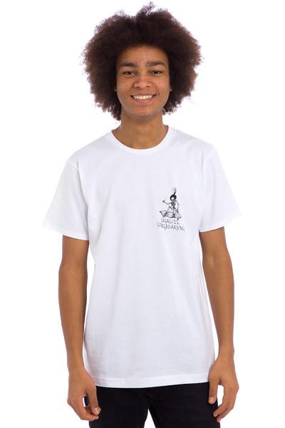 Legalize Longboarding Skulled T-Shirt (white)