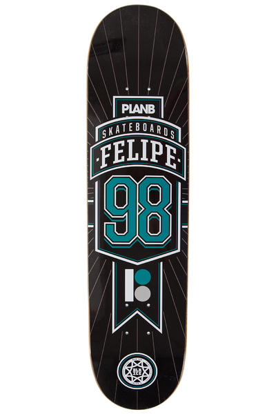 "Plan B Felipe Genesis BLK ICE 7.625"" Deck (black)"
