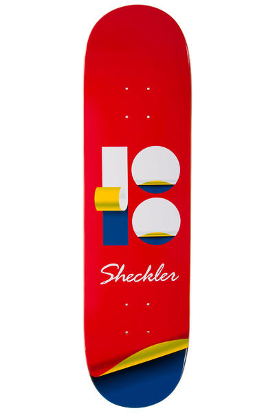 "Plan B Sheckler Wrap 8.25"" Deck (red)"