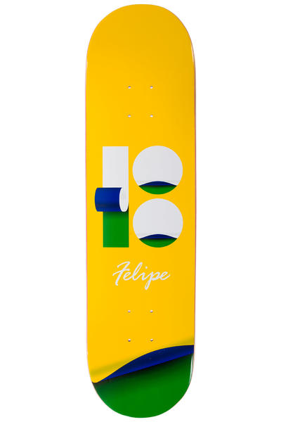 "Plan B Felipe Wrap 8.125"" Deck (yellow)"