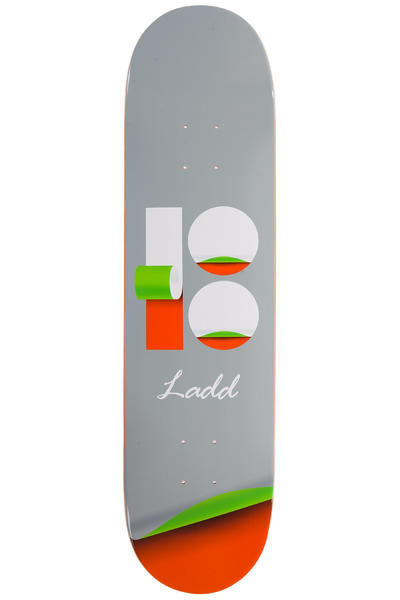 "Plan B Ladd Wrap 8"" Deck (grey)"