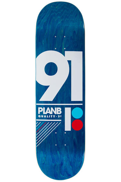 "Plan B Team 91 B 8.75"" Deck (blue)"