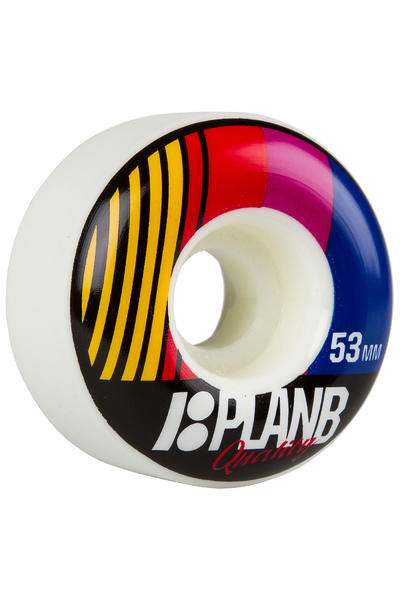 Plan B Team Race Day 53mm Rollen (multi) 4er Pack