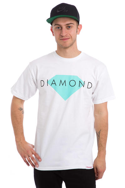 Diamond Solid T-Shirt (white)