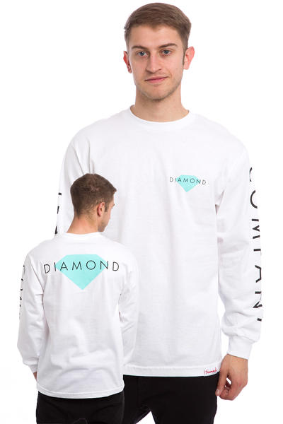 Diamond Solid Longsleeve (white)