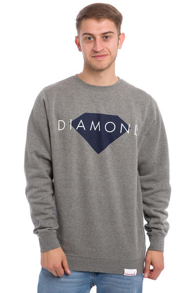 Diamond Solid Sweatshirt (gunmetal heather)