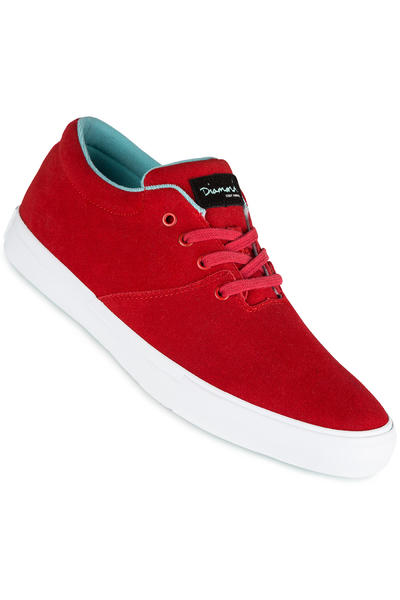 Diamond Torey Suede Shoe (red)