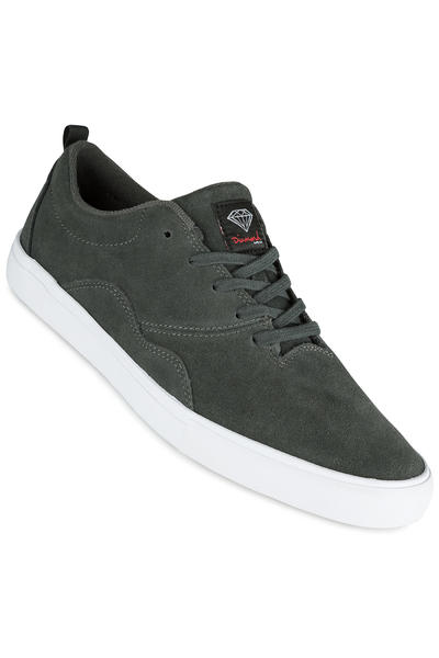Diamond Lafayette Suede Shoe (dark grey)