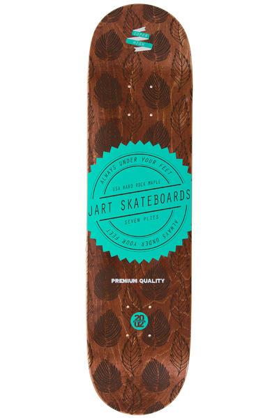 """Jart Skateboards Forrest 7.875"""" Deck (brown)"""