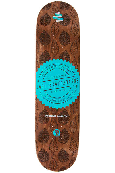 """Jart Skateboards Forrest 8.125"""" Deck (brown)"""