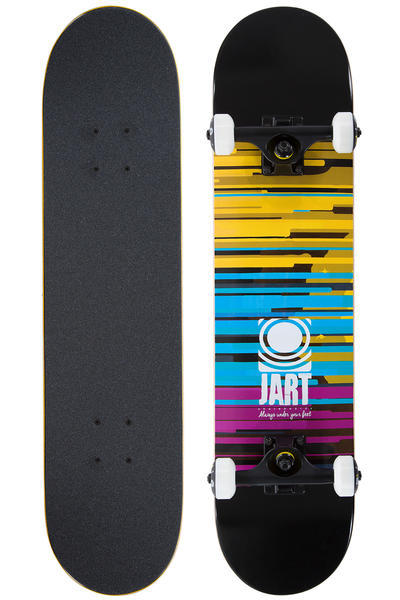"Jart Skateboards Speed 7.375"" Complete-Board (black)"