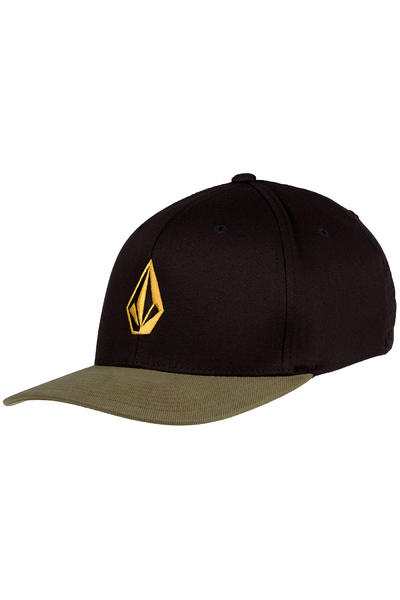 Volcom Full Stone xFit Flex Fit Cap (army green cambo)