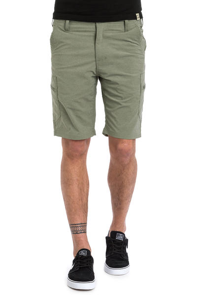 Volcom SNT Dry Cargo Hybrid Shorts (army green cambo)