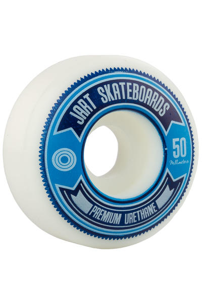 Jart Skateboards Shield 50mm Rollen (white) 4er Pack