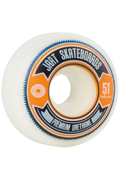 Jart Skateboards Shield 51mm Rueda (white) Pack de 4