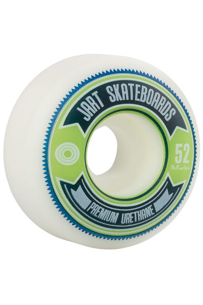 Jart Skateboards Shield 52mm Rollen (white) 4er Pack