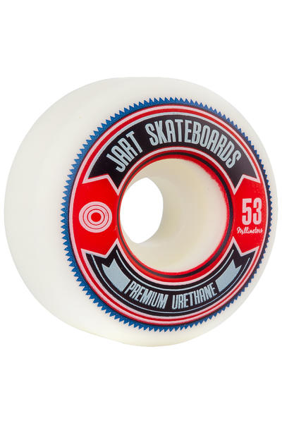 Jart Skateboards Shield 53mm Rollen (white) 4er Pack