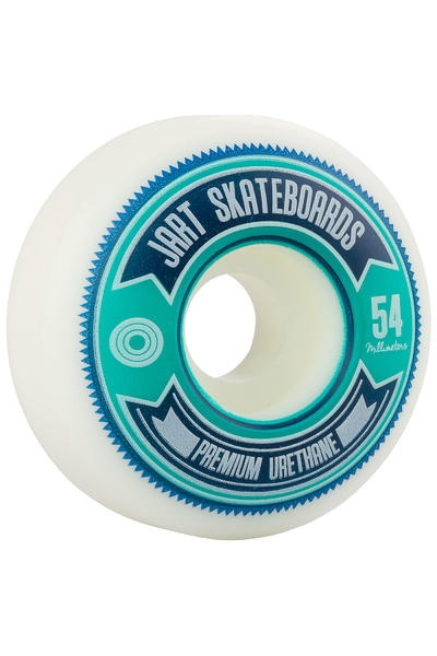 Jart Skateboards Shield 54mm Rollen (white) 4er Pack