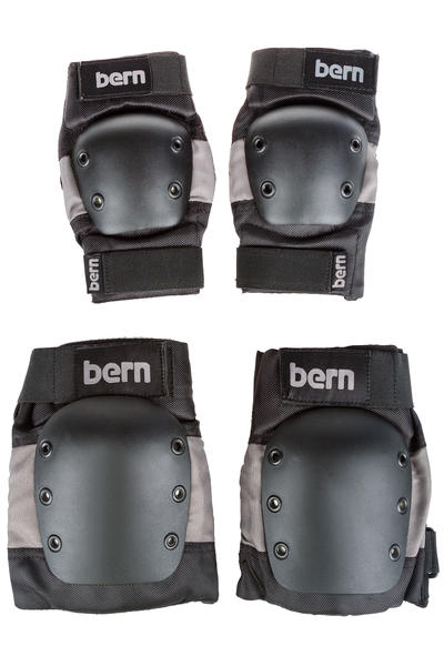 Bern Adult Schützer-Set (grey black)