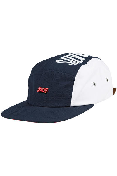 Official Crown of Laurel TX Camp Cap (white navy)
