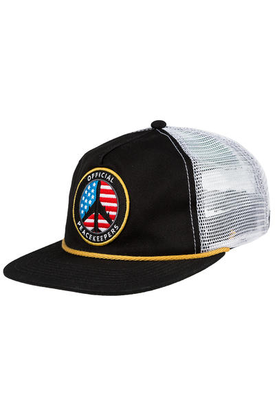 Official Crown of Laurel JT Peacekeeper Trucker Cap (black yellow)
