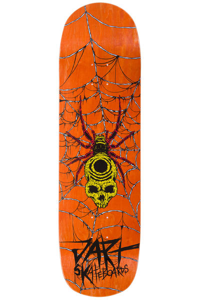 "Jart Skateboards Spider Pool Before Death 8.875"" Deck (orange)"