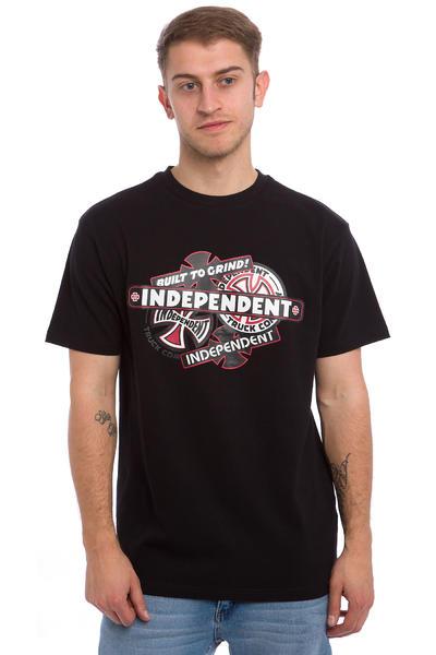 Independent Sticker Pack T-Shirt (black)