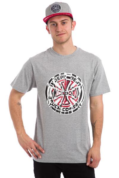 Independent Shredded Camiseta (heather grey)