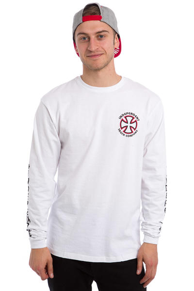 Independent Classic Bauhaus Cross Longsleeve (white)