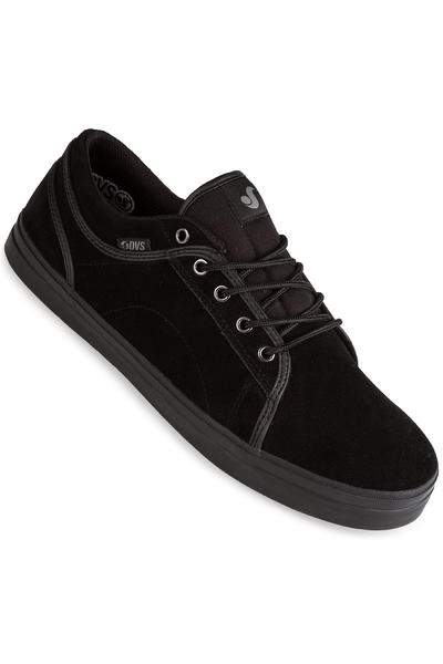 DVS Aversa Suede Shoe (black black)