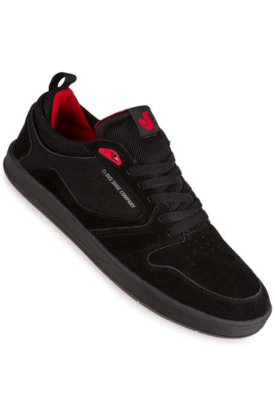 DVS Ignition SC Suede Shoe (black gum red)