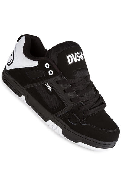 DVS Comanche Leather Shoe (black white black)