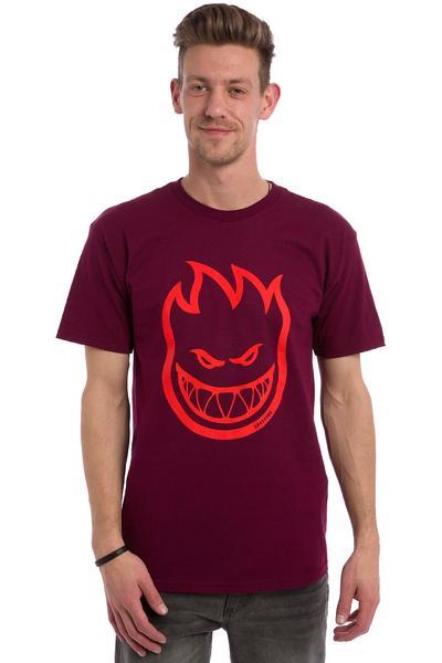 Spitfire Bighead T-Shirt (burgundy)